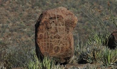 Conservación de sitios rupestres, tema nodal del II Coloquio Virtual 'Boca de Potrerillos'. Fotografía: INAH.