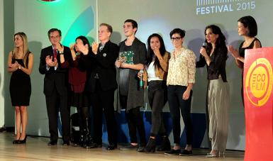Premiación Ecofilm 2015