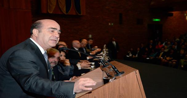 Intervención del Procurador Jesús Murillo Karam en la Ceremonia de inauguración de la Licenciatura en Ciencia Forense en la UNAM.