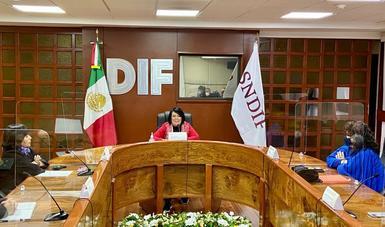 Firma de convenio para apoyar a familiares de víctimas de Covid-19