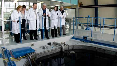 El Secretario de Energía, Pedro Joaquín Coldwell, visitó las instalaciones del Instituto de Investigaciones Nucleares (ININ)