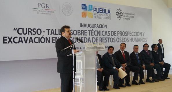 PGR respalda la investigación científica en materia forense a nivel nacional: Cleominio Zoreda