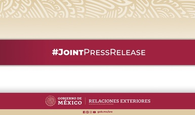 The Governments of Mexico and the US discuss the new US health measures for travelers