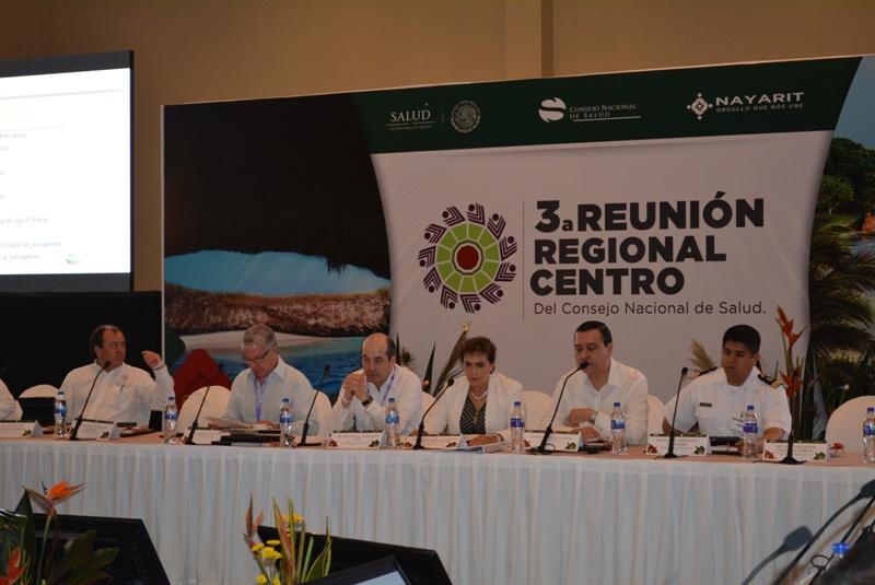 Se realizó la Tercera Reunión Región Centro del Consejo Nacional de Salud.