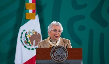 secretaría de Gobernación, Olga Sánchez Cordero