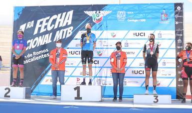 Primera fecha de la Copa Nacional de Ciclismo de Montaña 2021, el cual se realizó en el municipio de Rincón de Romos, Aguascalientes. Cortesía
