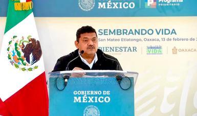 Secretario de Bienestar, Javier May Rodríguez