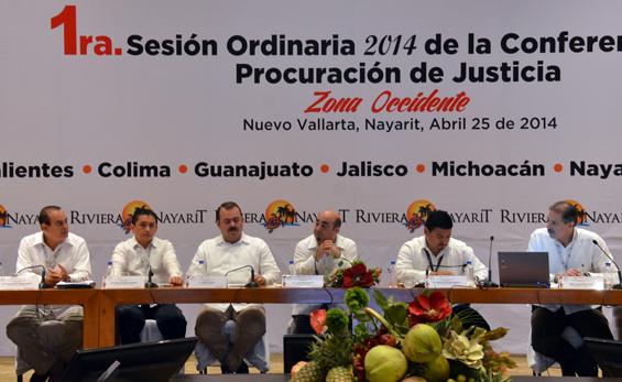 Inauguración de Procuración de Justicia Zona Occidente