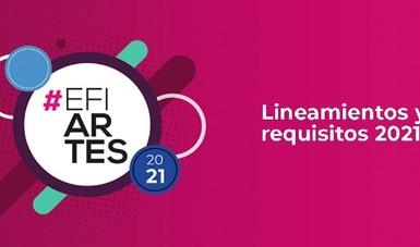 Desde su creación, el EFIARTES ha contribuido con éxito a la realización de proyectos para diferentes disciplinas artísticas.
