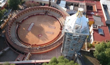 El INAH y la Dirección General de Sitios y Monumentos del Patrimonio Cultural han comisionado un trabajo profesional y apegado a las características históricas de este indiscutible patrimonio de México y el mundo.