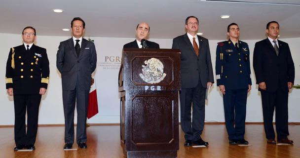 Mensaje del Procurador General de la República, Jesús Murillo Karam