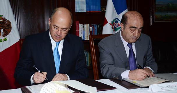 México y República Dominicana firman tratado en materia de extradición