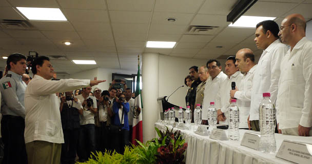La coordinación, elemento central para trabajar por la justicia y combatir el crimen: Murillo Karam