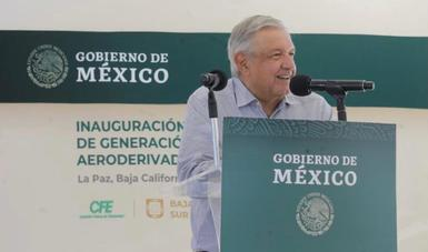 Nuevas plantas y próxima termoeléctrica garantizan suministro en Baja California Sur, afirma presidente