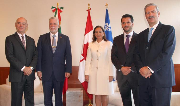 SEMARNAT Y GOBIERNO DE QUEBEC FIRMAN ACUERDO PARA FORTALECER COOPERACIÓN EN CAMBIO CLIMÁTICO