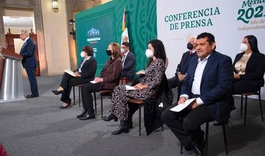 Conferencia Matutina del 22 de febrero del 2021