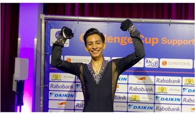 patinador artístico Donovan Carrillo Suazo