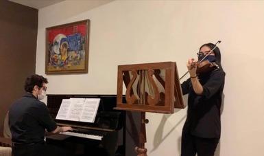 El recital que se presenta es ejemplo del arduo y constante trabajo que se realiza para hacer música de alta calidad.