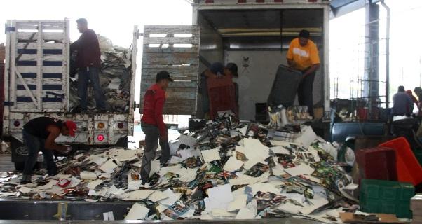 destruyó más de 17 toneladas de artículos apócrifos