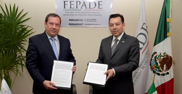 La PGR y el gobierno de Coahuila firman programa de trabajo en materia electoral