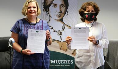 Acuerdo de reconocimiento de competencias, entendimiento y colaboración en materia de igualdad sustantiva entre mujeres y hombres