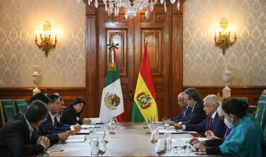 Declaración conjunta de los presidentes de los Estados Unidos Mexicanos y del Estado Plurinacional de Bolivia