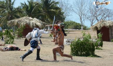 La Secretaría de Marina-Armada de México y el Gobierno del Estado de Campeche conmemoran el Día de la Victoria de Chakán Putum