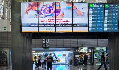 Como cada año, el primer domingo de abril en punto de las 02:00 horas, el AICM ajustará la hora en sus 388 pantallas (283 en Terminal 1 y 105 en Terminal 2) y 34 videowalls que publican información de vuelos.