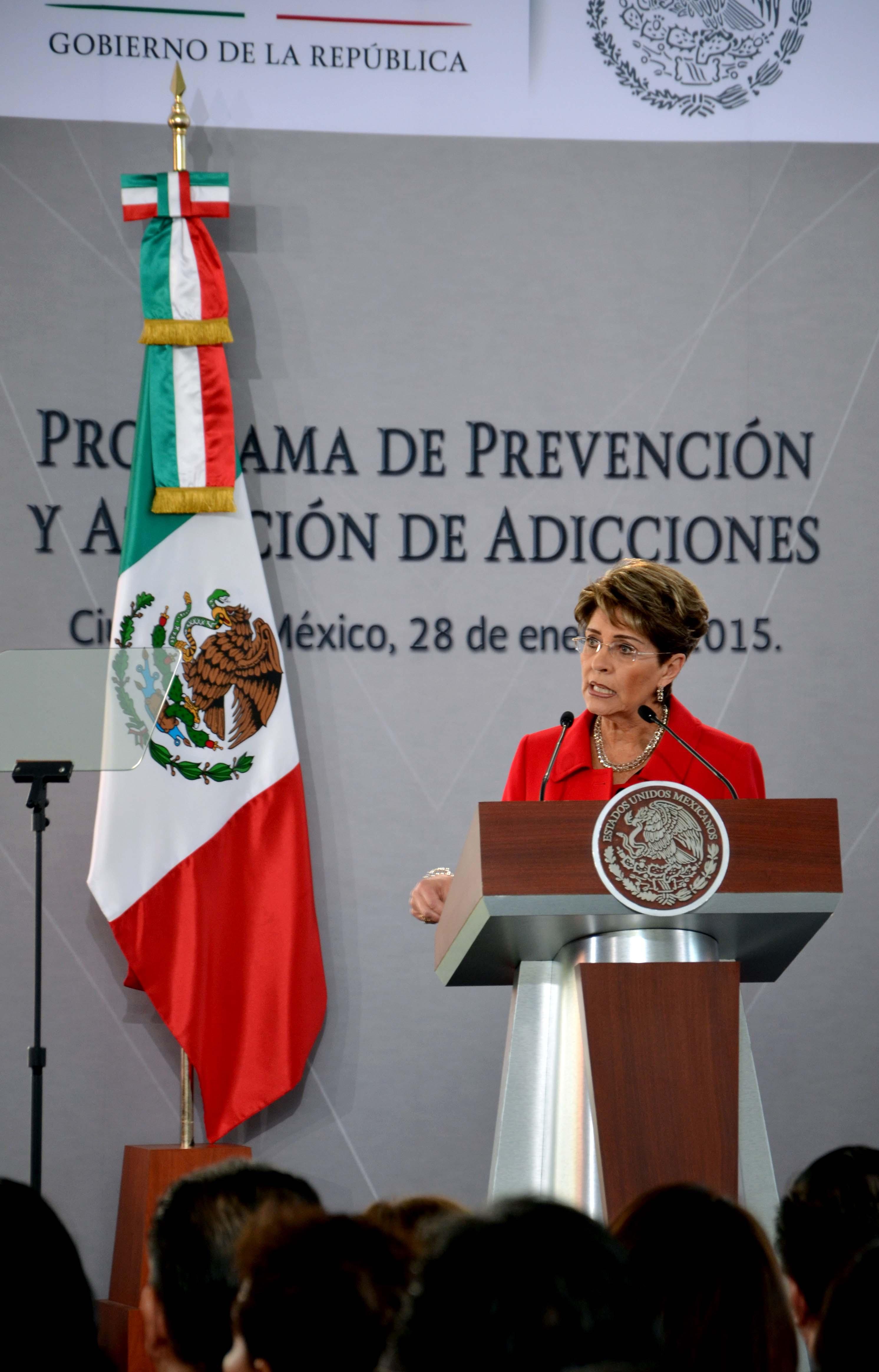 Presentación del Programa de Prevención y Atención de las Adicciones