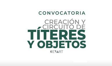 El registro para la convocatoria Creación y circuito de títeres y objetos quedará abierto desde el 11 de abril hasta el 14 de mayo de 2021.