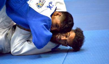 Selección nacional de judo en su participación en el Campeonato Panamericano de la disciplina, que se celebró en Guadalajara, Jalisco, en noviembre del 2020