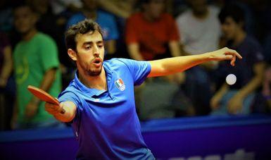 Marcos Madrid Mantilla protagonizó la misma historia que su compatriota y avanzó a los Cuartos de Final