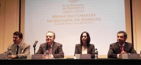 Realiza la Secretaría de Energía las mesas sectoriales para la conformación del PND