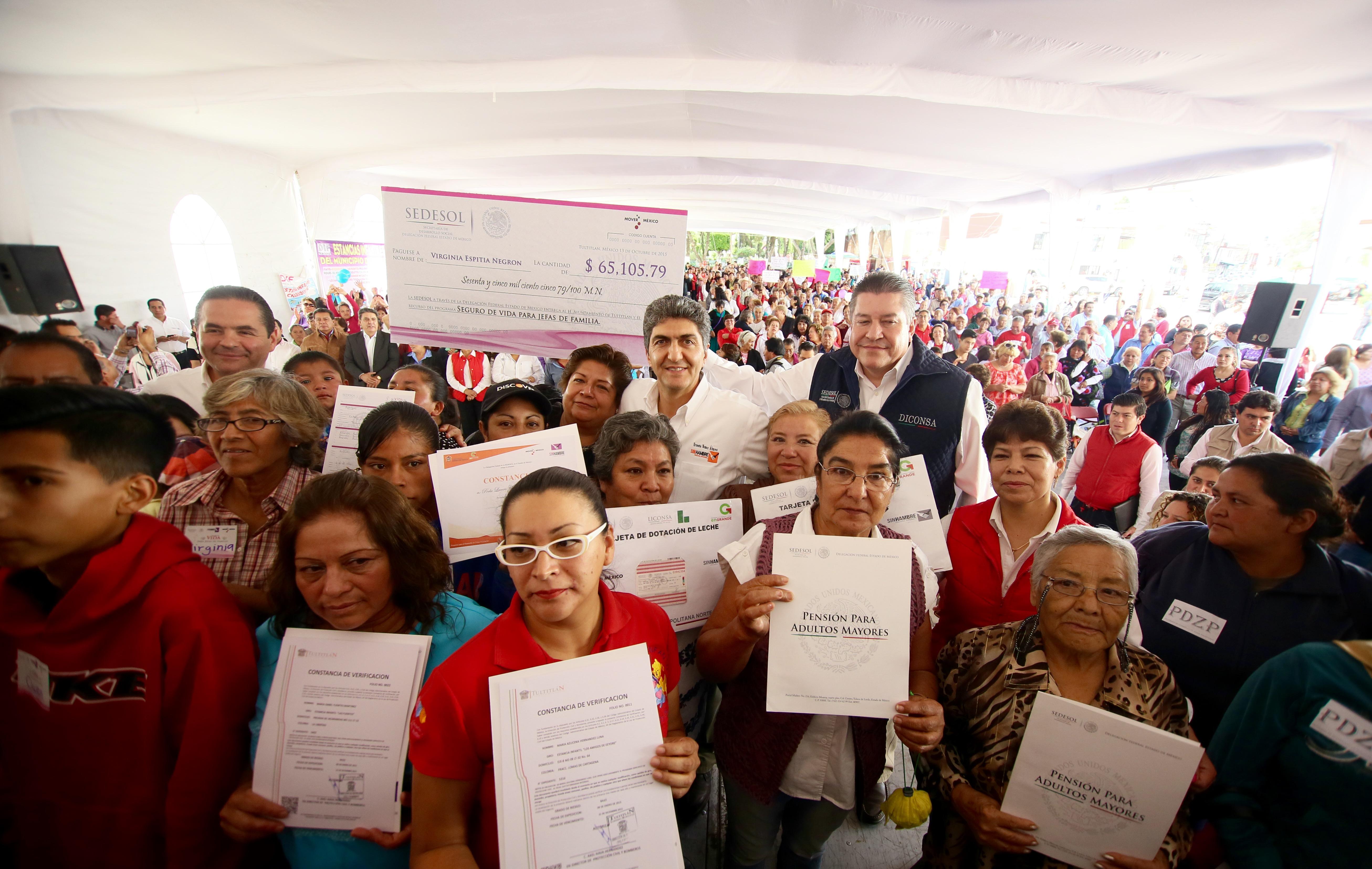 Reducir carencias sociales y generar productividad, objetivo de la política social: subsecretario Ernesto Nemer Álvarez