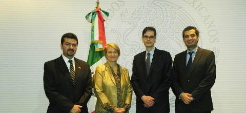 Dialogan funcionarios de México y Canadá sobre temas del sector energético