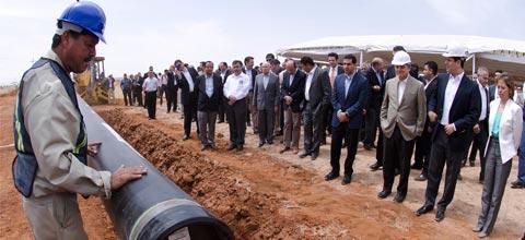 Con la construcción del Gasoducto Zacatecas, la entidad potenciará su desarrollo industrial: PJC.