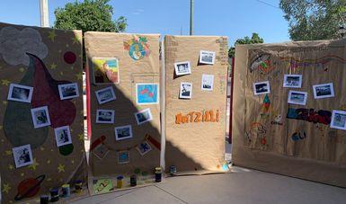 Los Semilleros creativos, de Cultura Comunitaria, son espacios para la enseñanza y el aprendizaje en formación artística comunitaria con infancias y juventudes. Foto. Cortesía Cultura Comunitaria.