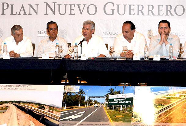 Concluidas las obras de SCT en el Plan Nuevo Guerrero