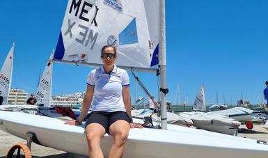 velerista Elena Oetling Ramírez