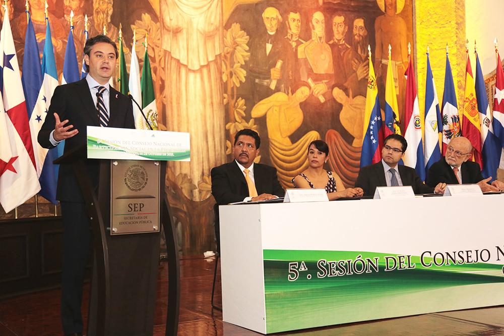 Entrevista al secretario de Educación Pública, Aurelio Nuño Mayer, al término de su participación en la 5ª. Sesión Ordinaria del Consejo Nacional de Participación Social en la Educación (Conapase)