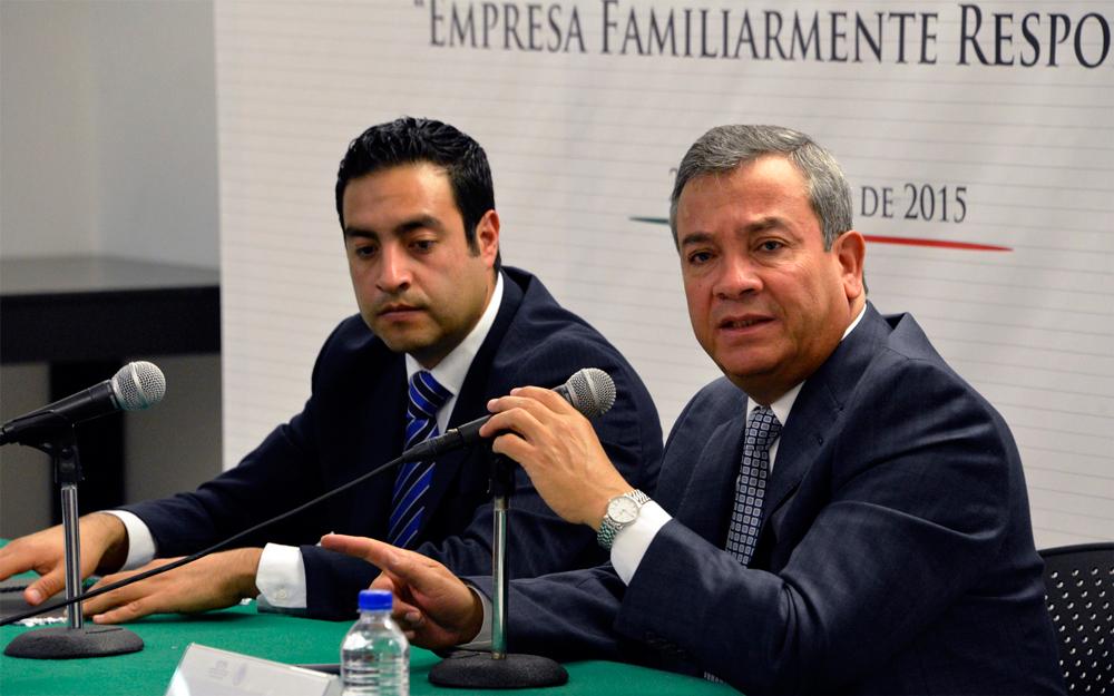 """El Subsecretario de Previsión Social de la STPS, Ignacio Rubí Salazar, indicó que el Distintivo """"Empresa Familiarmente Responsable"""" es una estrategia para hacer valer el derecho de todos los mexicanos a contar con un trabajo digno y decente."""