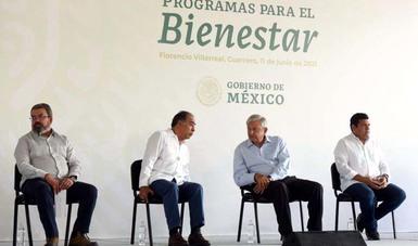 El titular de la SCT, Ing. Civil Jorge Arganis Díaz-Leal, informó  las acciones realizadas en la carretera Acapulco-Huatulco, tramo Cayaco-San Marcos-Las Vigas-Límite con los estados de Guerrero y Oaxaca.
