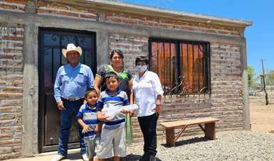 Entregas de vivienda como parte del Plan de Justicia para el Pueblo Yaqui