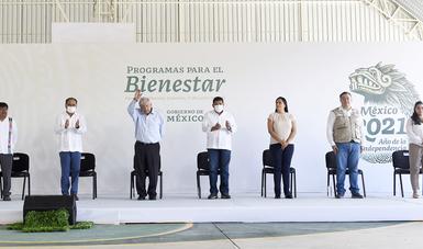 Avances de Programas para el Bienestar en Florencio Villarreal, Guerrero