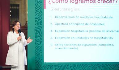 Actualmente el IMSS trabaja en la recuperación de servicios médicos ordinarios y da continuidad al comportamiento de la pandemia.