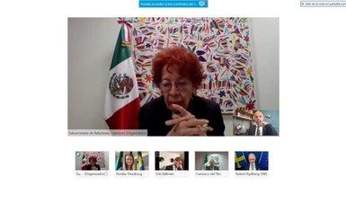 México y Suecia sostienen consultas políticas viceministeriales