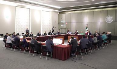 Gobernación se reúne con representantes de empresas de seguridad privada