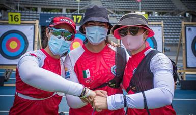 arqueras Alejandra Valencia Trujillo, Aída Nabila Román Arroyo y Ana Paula Vázquez Flores, se convirtieron en las figuras de la delegación tricolor al obtener el boleto por equipos a Juegos Olímpicos