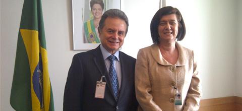Reunión del Secretario de Energía, Licenciado Pedro Joaquín Coldwell, con el expresidente brasileño, Fernando Henrique Cardoso.