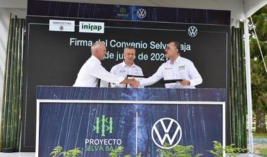 Forman alianza público-privada para contribuir a la conservación de la biodiversidad de la selva baja perennifolia en Puebla.
